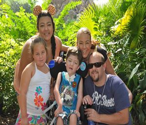 Diana, Danin, Luke, Mikalela and Taylor.