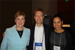 Sarah Foye, Alan Beggs and Catherine Brownstein.