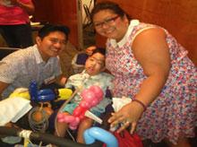 Jong, Onessa and Elijah.