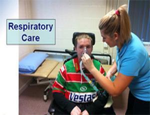 Respiratory care.