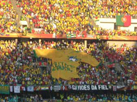 World Cup stadium.