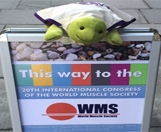 Myo at the World Muscle Society meeting in Brighton.