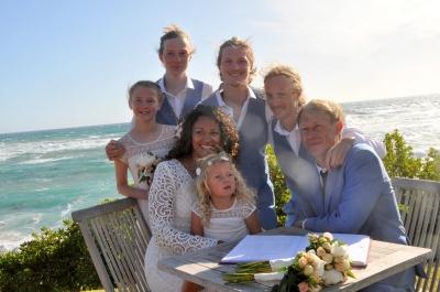 Family of seven.
