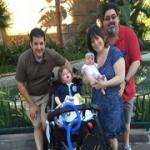 Myo with the Serafano family.