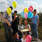 Balloons for Emil.