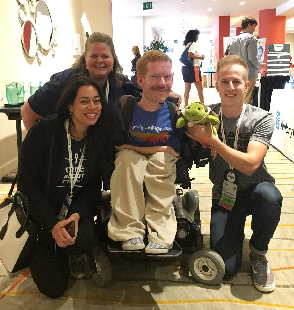 Myo at the Global Genes Rare Patient Advocacy Summit