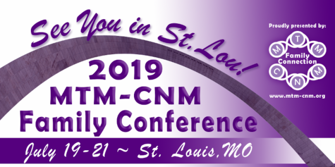 US MTM-CNM Family Conference logo.