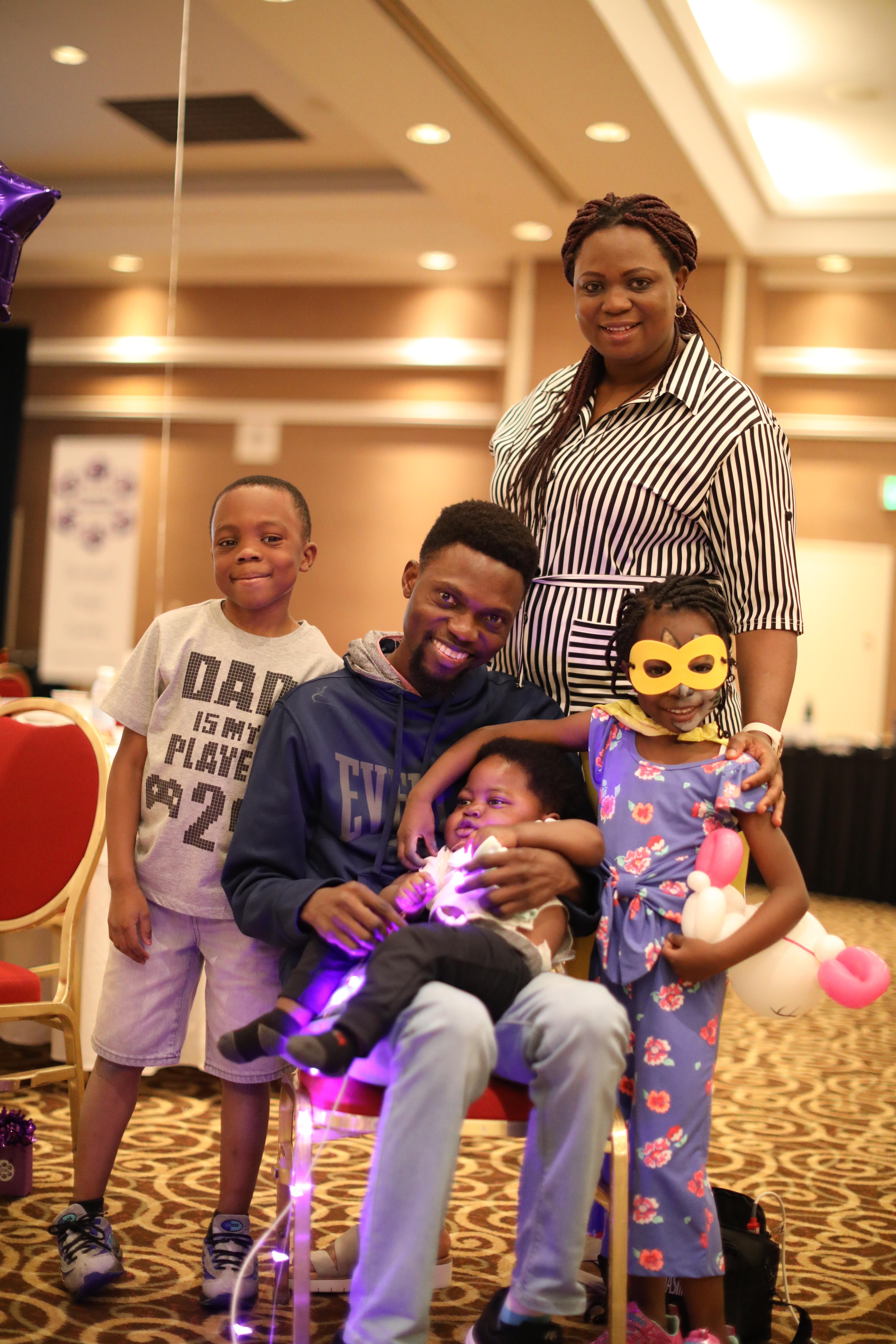 The Kalejaiye family.