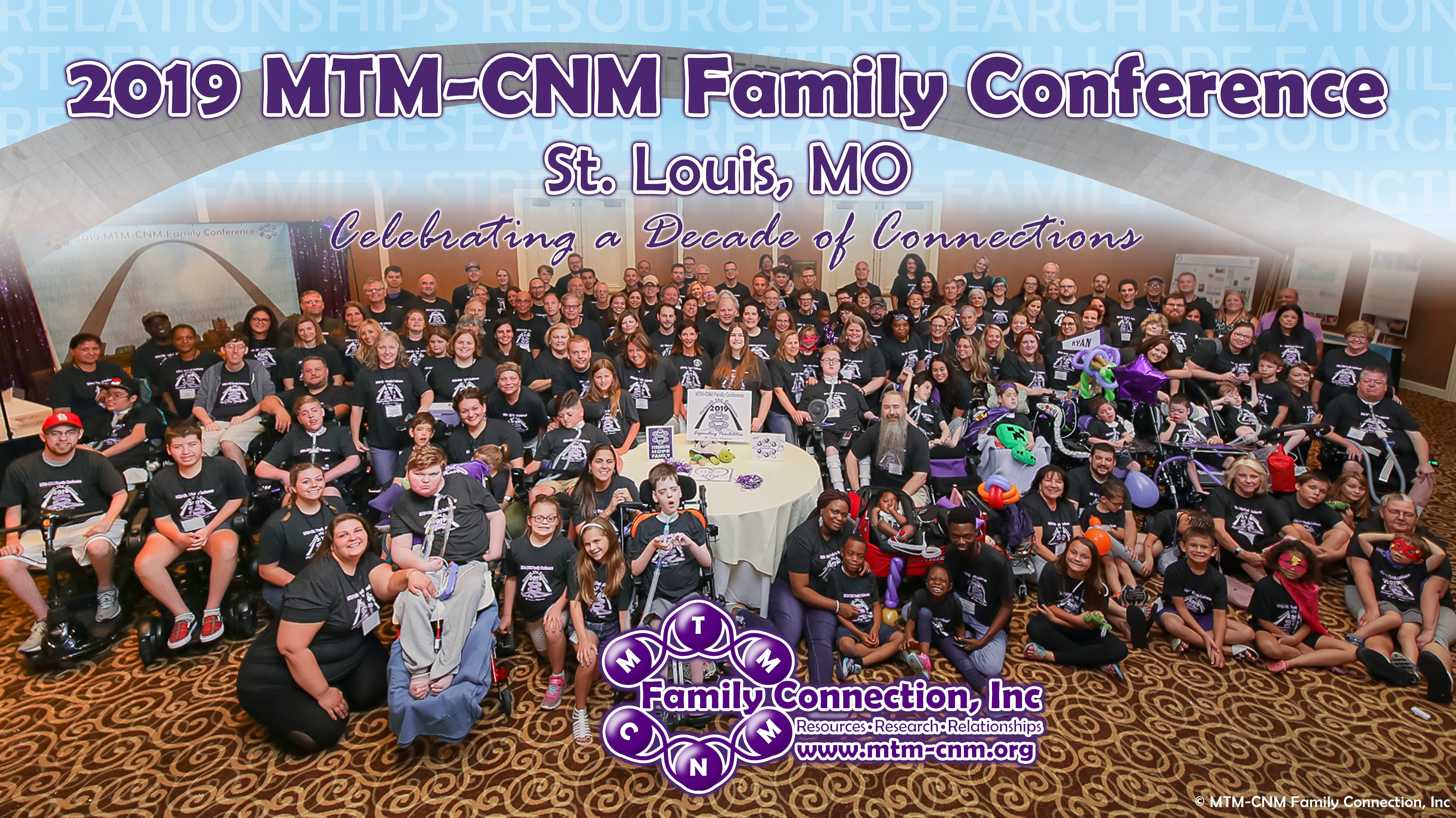 US MTM-CNM family conference group photo.